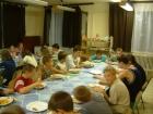 Edzőtábori ebéd Tiszaörsön
