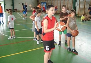Kosárlabdás Napközis Tábor 2012.